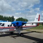 WINAIR celebrates past with a retro style plane