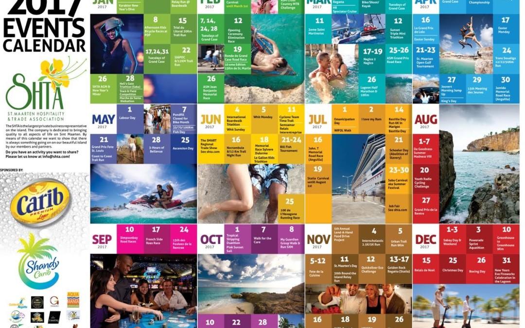 SHTA & Carib launched the 1st Annual Event Calendar