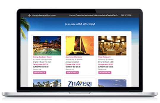 SHTA Auction Website
