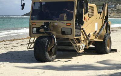 Consortium of NGO's acquires Beach Cleaning Machine