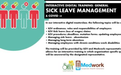 SHTA Hosted a Masterclass with Medwork and SZV on Sick Leave Management