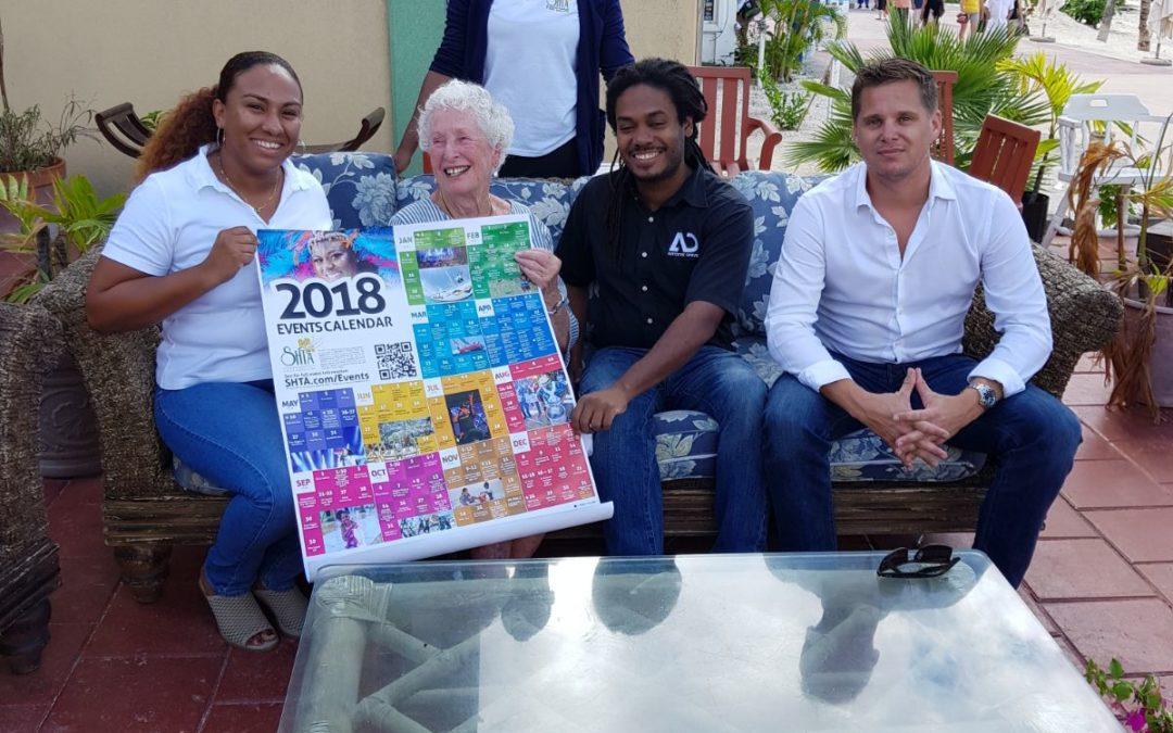 SHTA & Carib end 2018 Event Calendar campaign with Symbolic Gesture