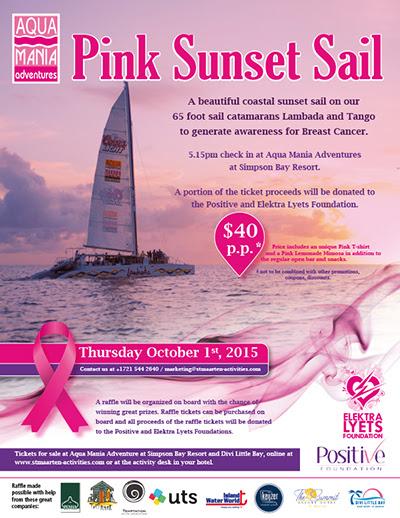 Pink Sunset Sail
