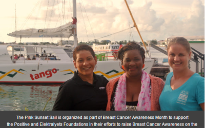 Overwhelming response from local community to support the Pink Sunset Sail organized by Aqua Mania Adventures