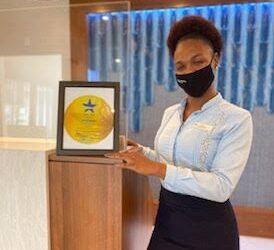 Flamingo Beach Resort Receives Gold SafeSeal Emblem