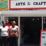 SHTA Director meets with local crafters