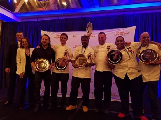 SHTA congratulates the St. Maarten/St. Martin Culinary Team