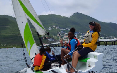 Sint Maarten Yacht Club sailing around the island to raise money for youth sailing this upcoming weekend