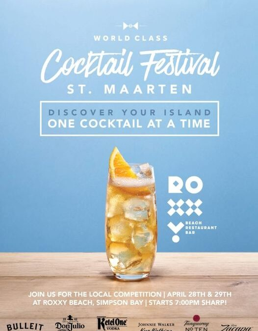 St. Maarten competes in The World Class Bartender competition