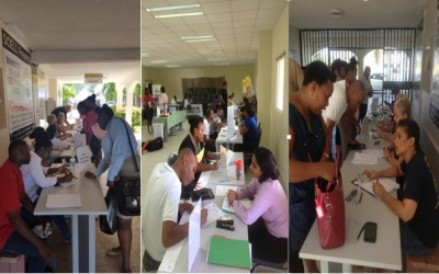 SHTA in collaboration with the Department of Labor Affairs look back at successful Job Fair