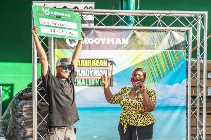Kooyman Crowns Local Winner of Caribbean Handyman Challenge
