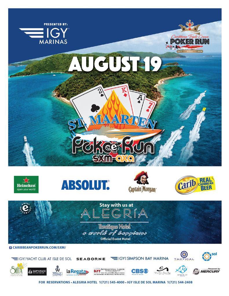 St Maarten Poker Run | SHTA