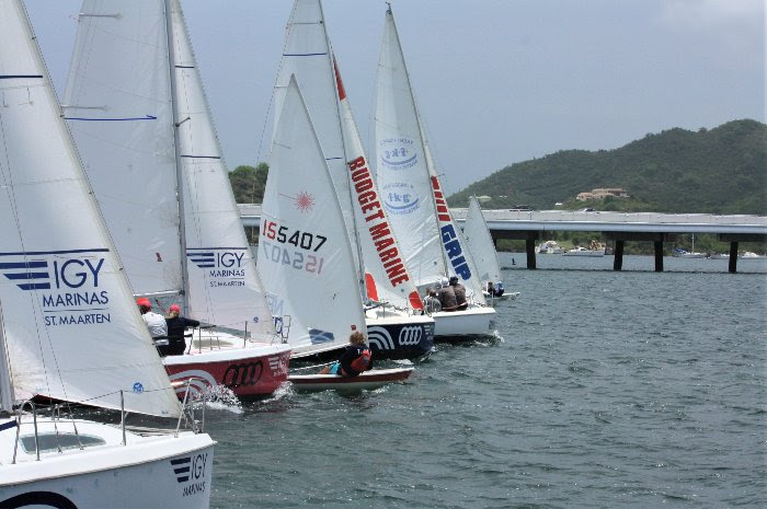 Wet, windy and wonderful! The best way to describe the 7th edition of the Lagoonies Regatta sailed by 12 teams.